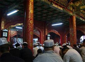 Suasana Jum'atan di masjid Niu Jie - Beijing