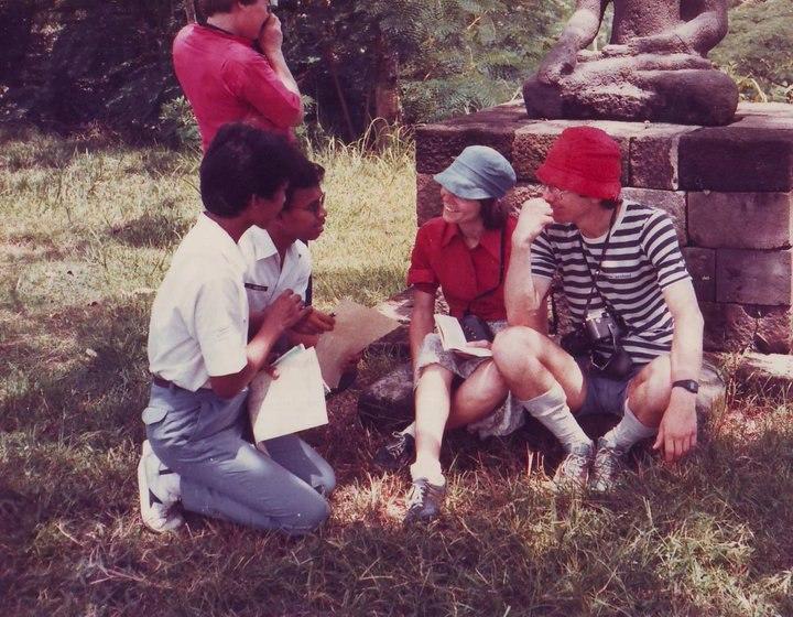Survei kuesioner pada wisman, KIR SMA1 Magelang, 1985