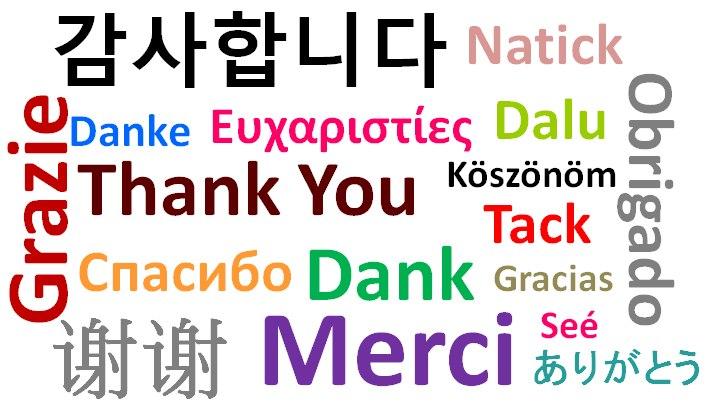 Beberapa Bahasa Dunia
